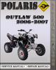 Thumbnail 2006-2007 Polaris Outlaw 500 Factory Service Repair Manual