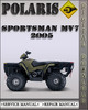 Thumbnail 2005 Polaris Sportsman MV7 Factory Service Repair Manual