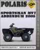 Thumbnail 2005 Polaris Sportsman MV7 Addendum Factory Service Repair Manual