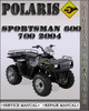 Thumbnail 2004 Polaris Sportsman 600 700 Factory Service Repair Manual