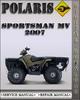 Thumbnail 2007 Polaris Sportsman MV Factory Service Repair Manual