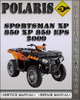Thumbnail 2009 Polaris Sportsman XP 850 XP 850 EPS Factory Service Repair Manual