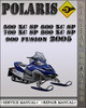 Thumbnail 2005 Polaris 500 XC SP 600 XC SP 700 XC SP 800 XC SP 900 FUSION Factory Service Repair Manual