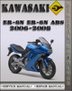 Thumbnail 2006-2008 Kawasaki ER-6n ER-6n ABS Factory Service Repair Manual
