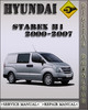 Thumbnail 2000-2007 Hyundai Starex H1 Factory Service Repair Manual