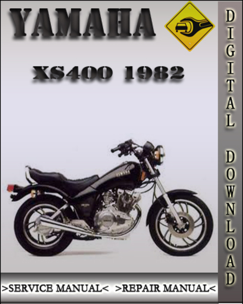1982 yamaha xs400 factory service repair manual download. Black Bedroom Furniture Sets. Home Design Ideas