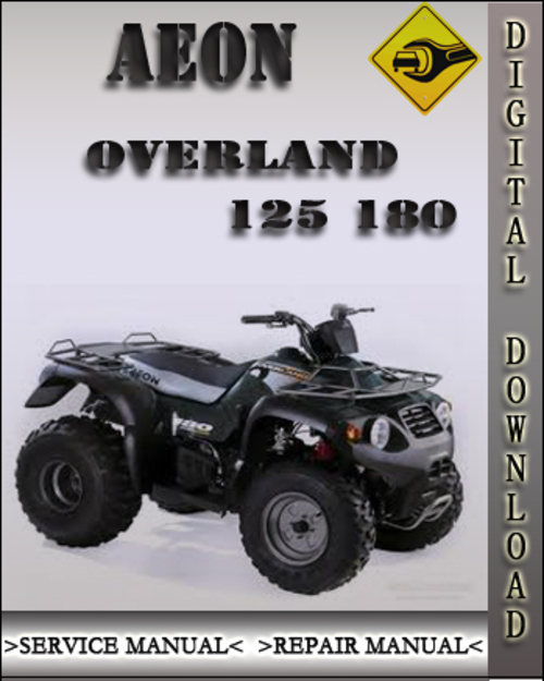 aeon overland 125 180 factory service repair manual. Black Bedroom Furniture Sets. Home Design Ideas