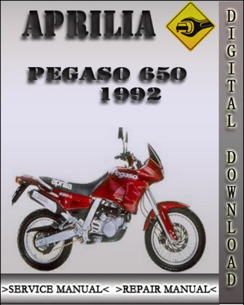 1992 aprilia pegaso 650 factory service repair manual