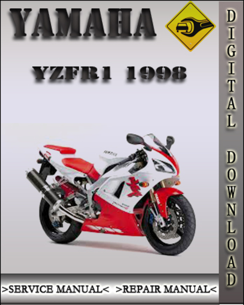 1998 yamaha yzfr1 factory service repair manual download. Black Bedroom Furniture Sets. Home Design Ideas
