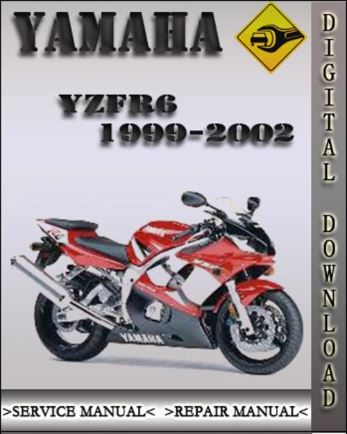 1999 2002 yamaha yzfr6 factory service repair manual 2000. Black Bedroom Furniture Sets. Home Design Ideas