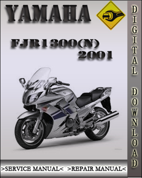 yamaha fjr 1300 n 2001 service repair manual. Black Bedroom Furniture Sets. Home Design Ideas