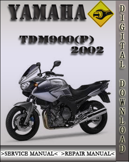 2002 yamaha tdm900 p factory service repair manual. Black Bedroom Furniture Sets. Home Design Ideas