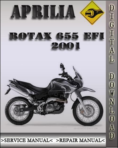 2001 aprilia rotax 655efi factory service repair manual