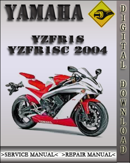 2004 yamaha yzfr1s yzfr1sc factory service repair manual. Black Bedroom Furniture Sets. Home Design Ideas