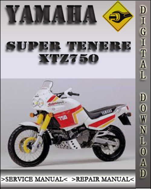 yamaha super tenere xtz750 factory service repair manual. Black Bedroom Furniture Sets. Home Design Ideas