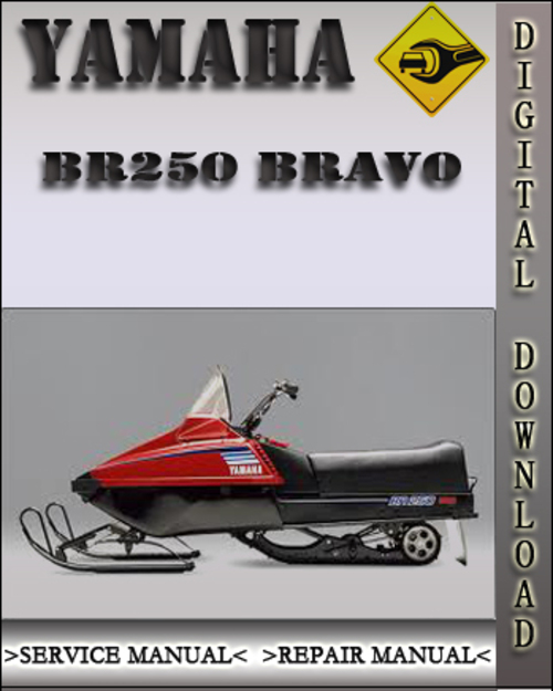 yamaha br250 bravo snowmobile factory service repair. Black Bedroom Furniture Sets. Home Design Ideas
