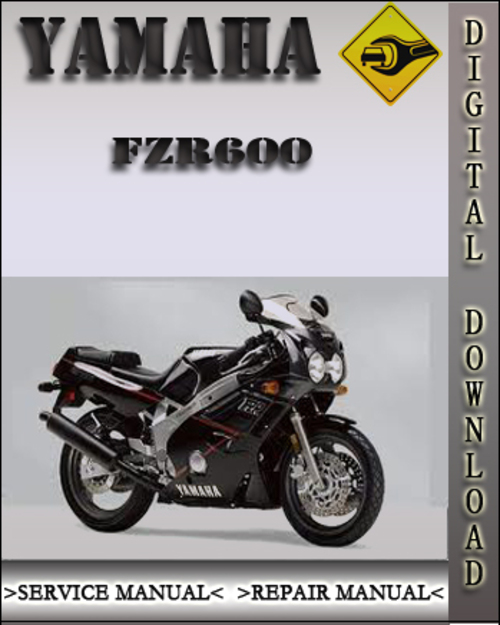 1998 yamaha fzr600 factory service repair manual