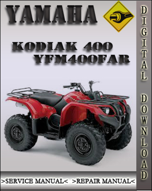 2003 Yamaha Kodiak 400 Yfm400far Factory Service Repair