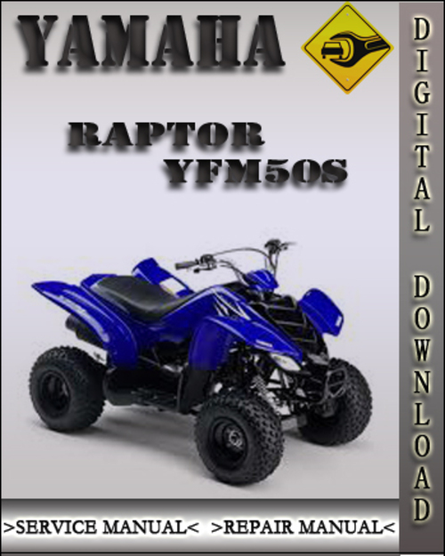 yamaha raptor yfm50s factory service repair manual. Black Bedroom Furniture Sets. Home Design Ideas