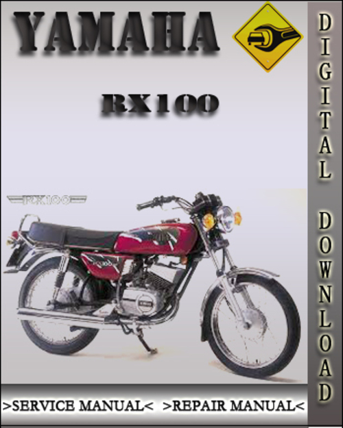 yamaha rx100 factory service repair manual download manuals rh tradebit com Yamaha RX 100 New Launch yamaha rx 100 service manual