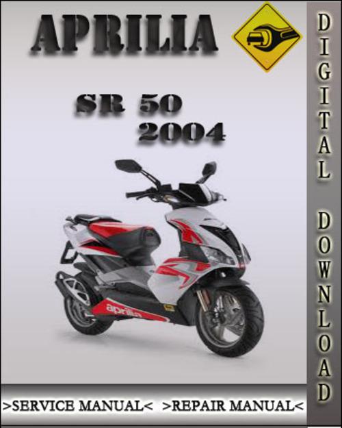2004 Aprilia Sr50 Sr 50 Factory Service Repair Manual