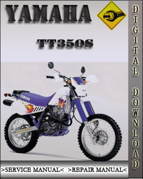 yamaha tt350s factory service repair manual download. Black Bedroom Furniture Sets. Home Design Ideas
