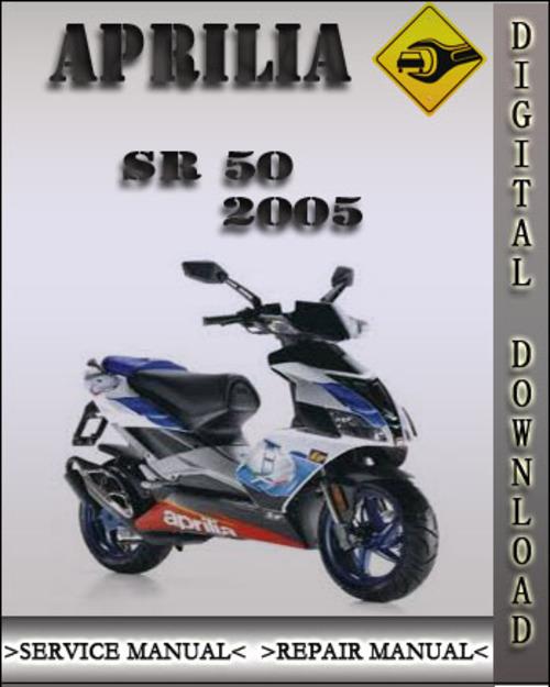 aprilia sr50 1997 factory service repair manual
