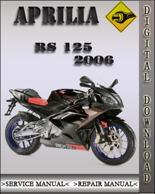 aprilia rs 125 1993 2000 factory service repair manual download