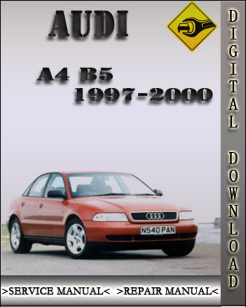 1997 2000 audi a4 b5 factory service repair manual 1998