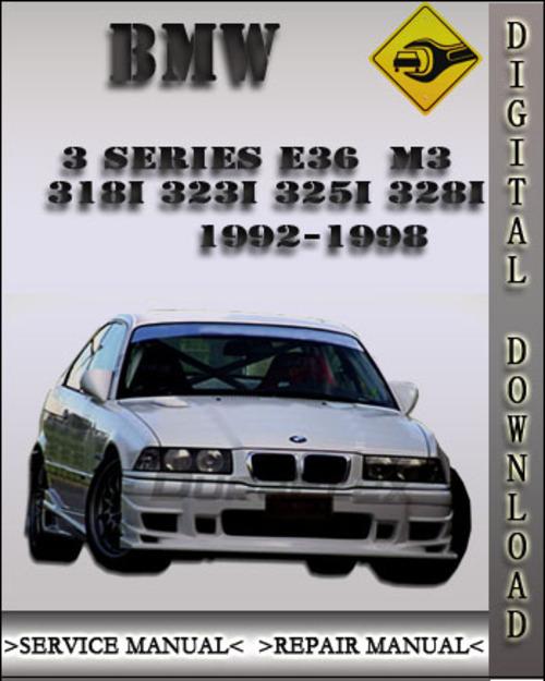 bmw m3 factory service manual repair manual 1992 1998. Black Bedroom Furniture Sets. Home Design Ideas