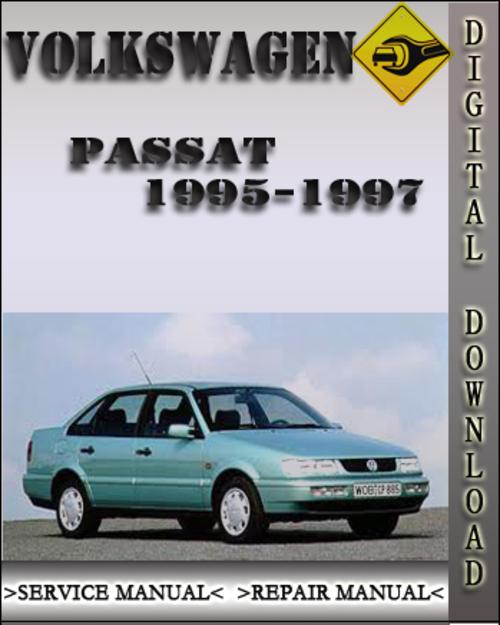 1995 1997 volkswagen passat factory service repair manual. Black Bedroom Furniture Sets. Home Design Ideas