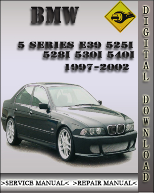 1997 2002 bmw 5 series e39 525i 528i 530i 540i factory. Black Bedroom Furniture Sets. Home Design Ideas