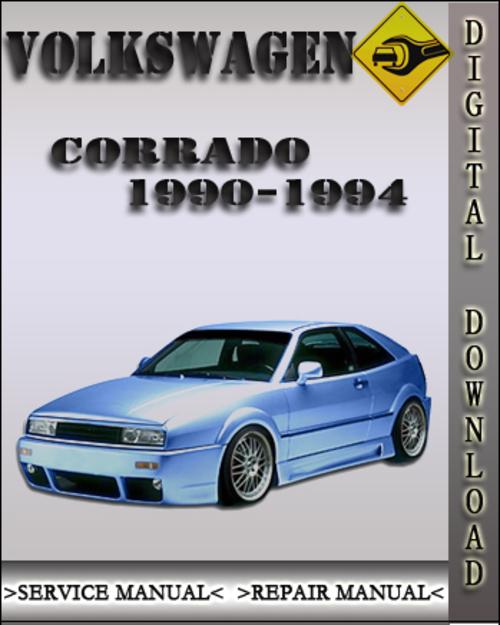 1990 1994 volkswagen corrado factory service repair manual 1991 199 rh tradebit com vw corrado manual vw corrado owners manual