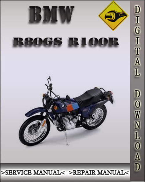bmw r80gs r100r factory service repair manual download. Black Bedroom Furniture Sets. Home Design Ideas