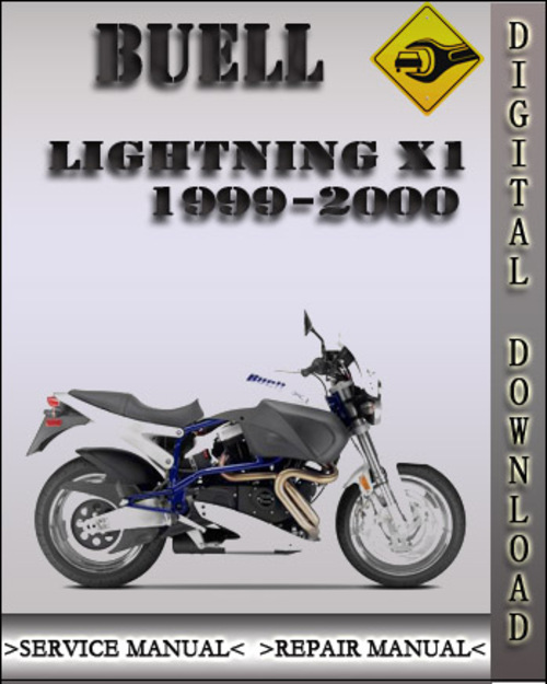 1999 2000 buell lightning x1 factory service repair manual. Black Bedroom Furniture Sets. Home Design Ideas