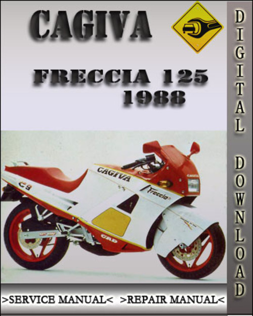 1988 cagiva freccia 125 factory service repair manual. Black Bedroom Furniture Sets. Home Design Ideas