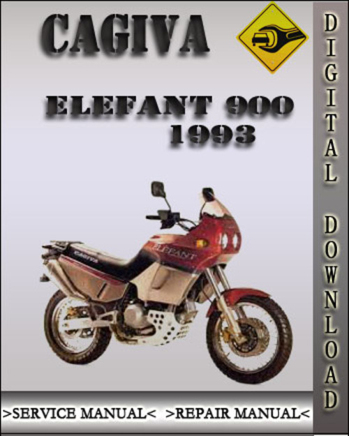1993 cagiva elefant 900 factory service repair manual download ma rh tradebit com cagiva elefant 900 service manual Ducati Cagiva Elefant