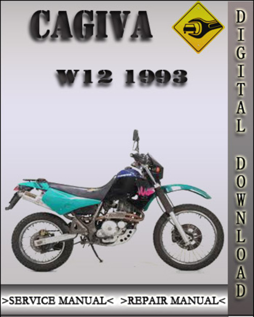1993 cagiva w12 factory service repair manual download manuals a rh tradebit com Cagiva Scooter Cagiva Motocross Bikes