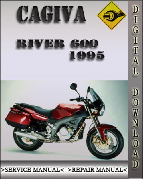 cagiva river 600 1995 factory service repair manual