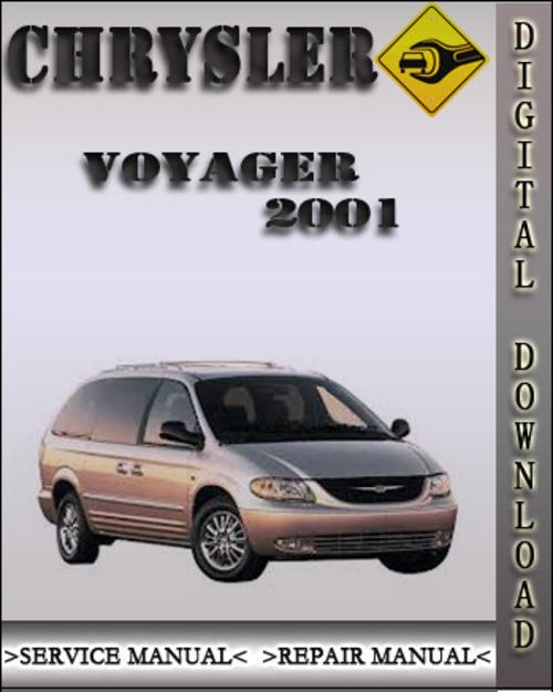 2001 Chrysler Voyager Factory Service Repair Manual