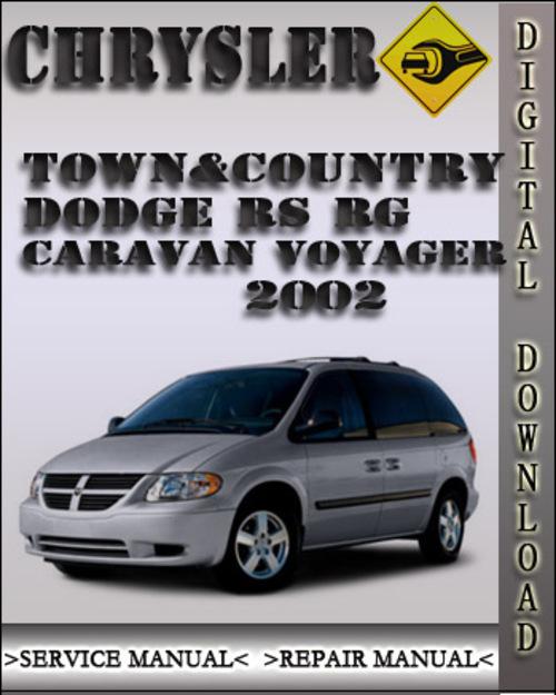 2002 chrysler town u0026country dodge rs rg caravan voyager