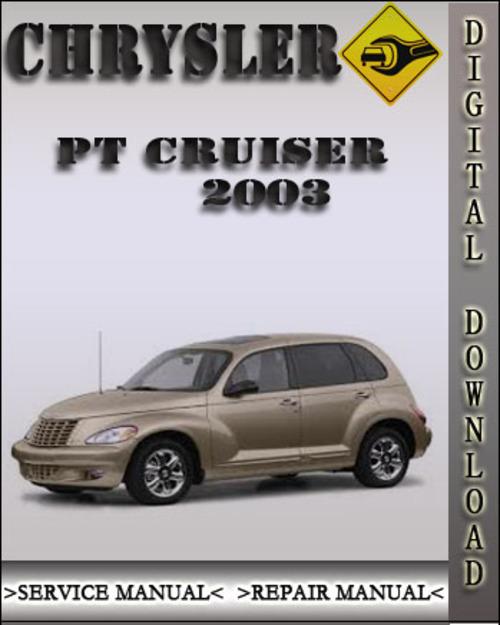 2003 Chrysler Pt Cruiser Factory Service Repair Manual