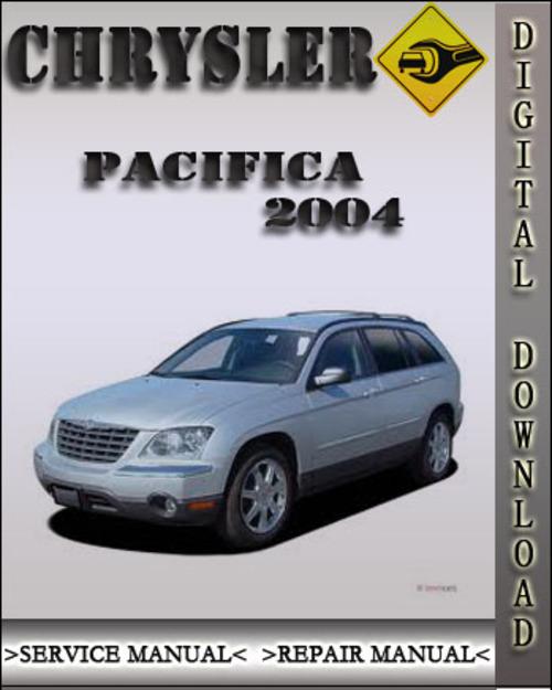 2004 Chrysler Pacifica Factory Service Repair Manual