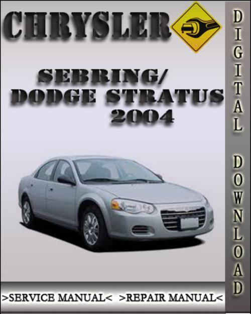 2004 chrysler sebring dodge stratus factory service repair manual rh tradebit com chrysler sebring 2004 manual pdf chrysler sebring 2004 owners manual