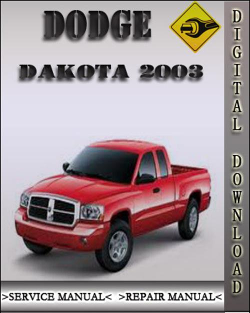 2003 dodge dakota factory service repair manual download. Black Bedroom Furniture Sets. Home Design Ideas