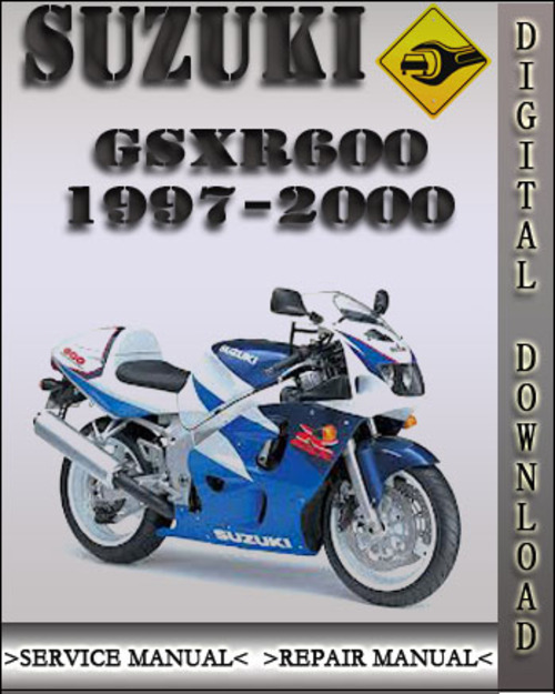 suzuki gsxr600 factory service manual 1997 2000 download. Black Bedroom Furniture Sets. Home Design Ideas