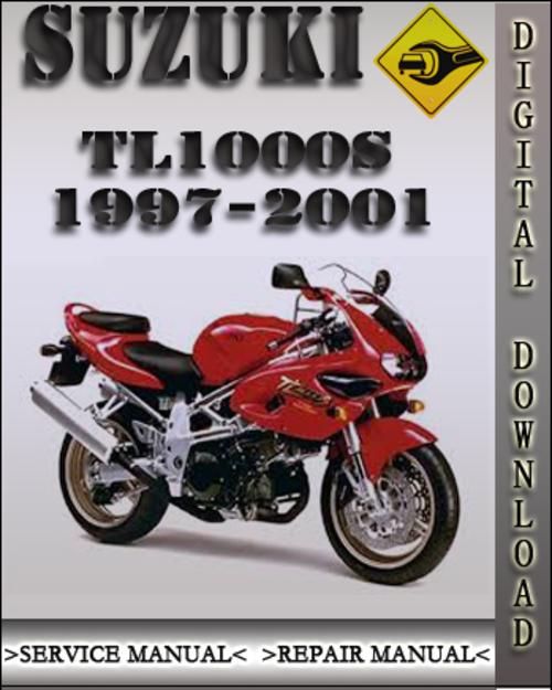 1997-2001 Suzuki TL1000S Factory Service Repair Manual