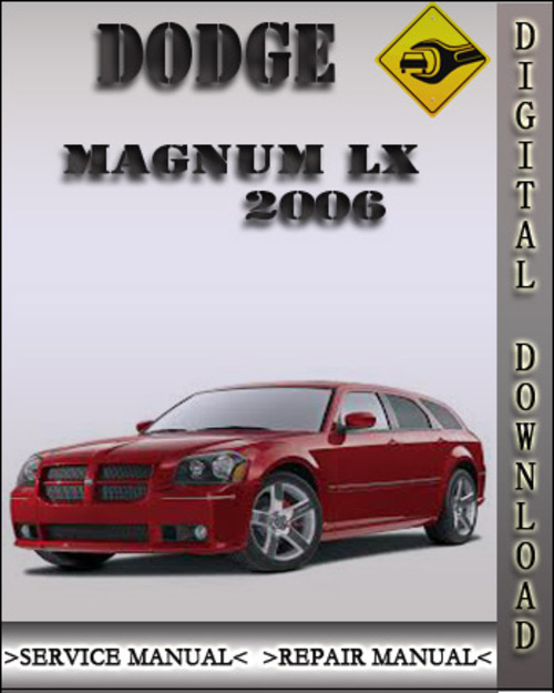 2007 Chrysler 300c Service Manual
