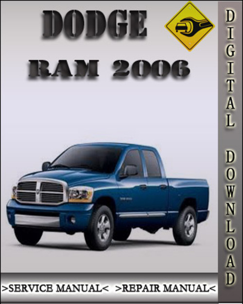 2006 dodge ram factory service repair manual download. Black Bedroom Furniture Sets. Home Design Ideas