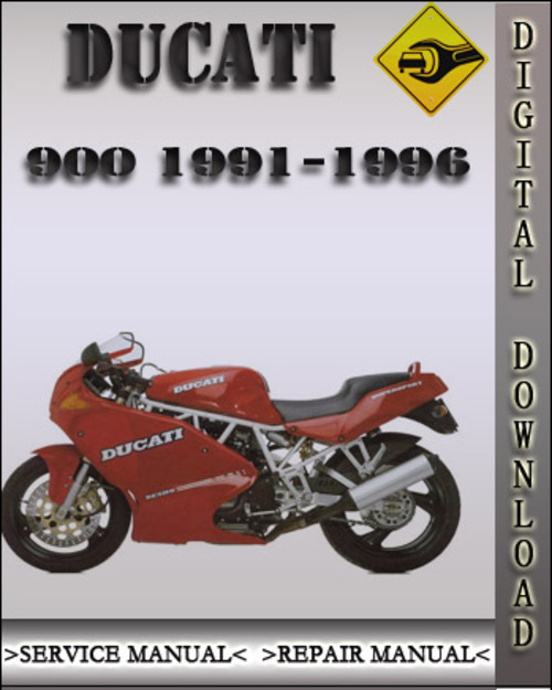 1991 1996 ducati 900 factory service repair manual 1992. Black Bedroom Furniture Sets. Home Design Ideas